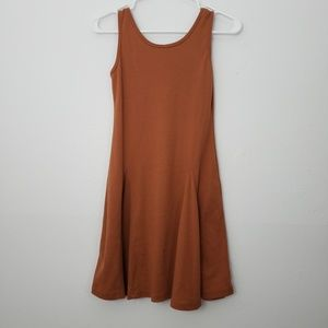 Unme Mini Fit and Flare Pleated Dress